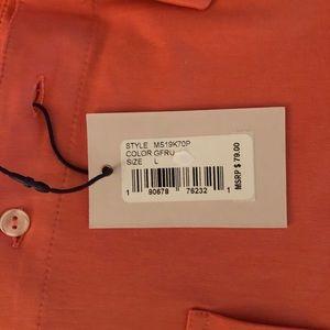 Peter Millar Shirts - NWT! Peter Millar Seaside Wash Aqua Polo, Size L